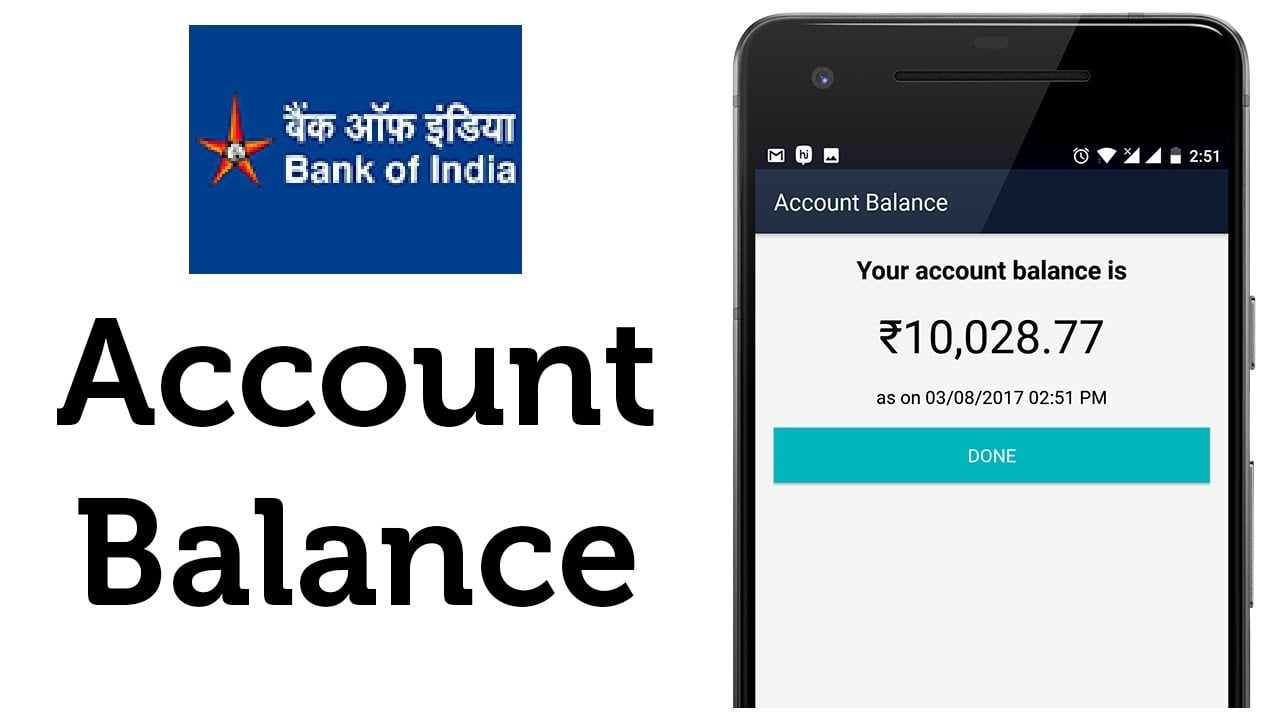 how to check bank balance online