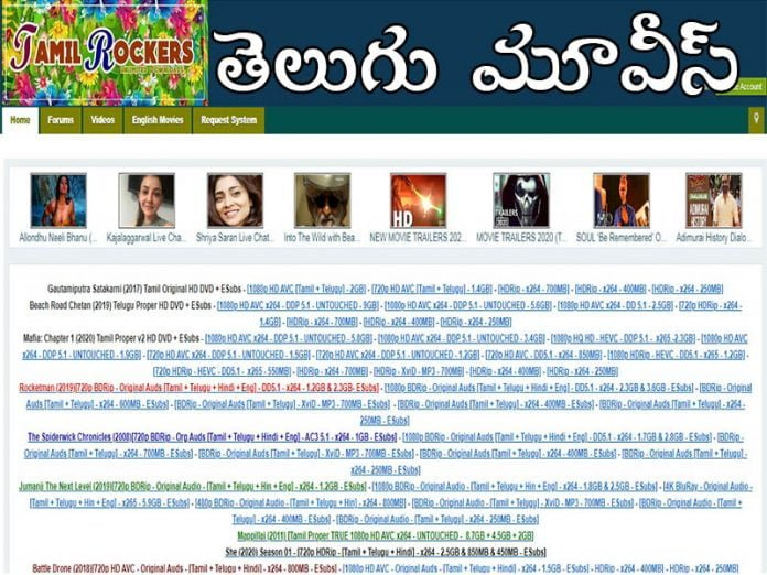 Tamilrockers Telugu Movies Download For Free