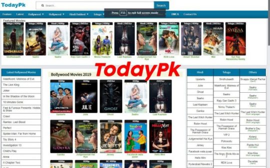 todaypk 2021 telugu movies download