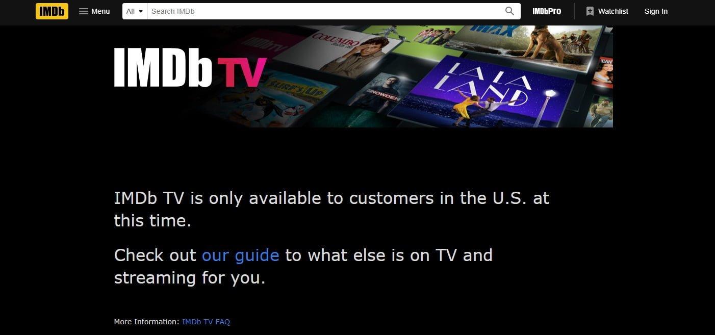 Top 10 Movie Download Sites : Imdb TV