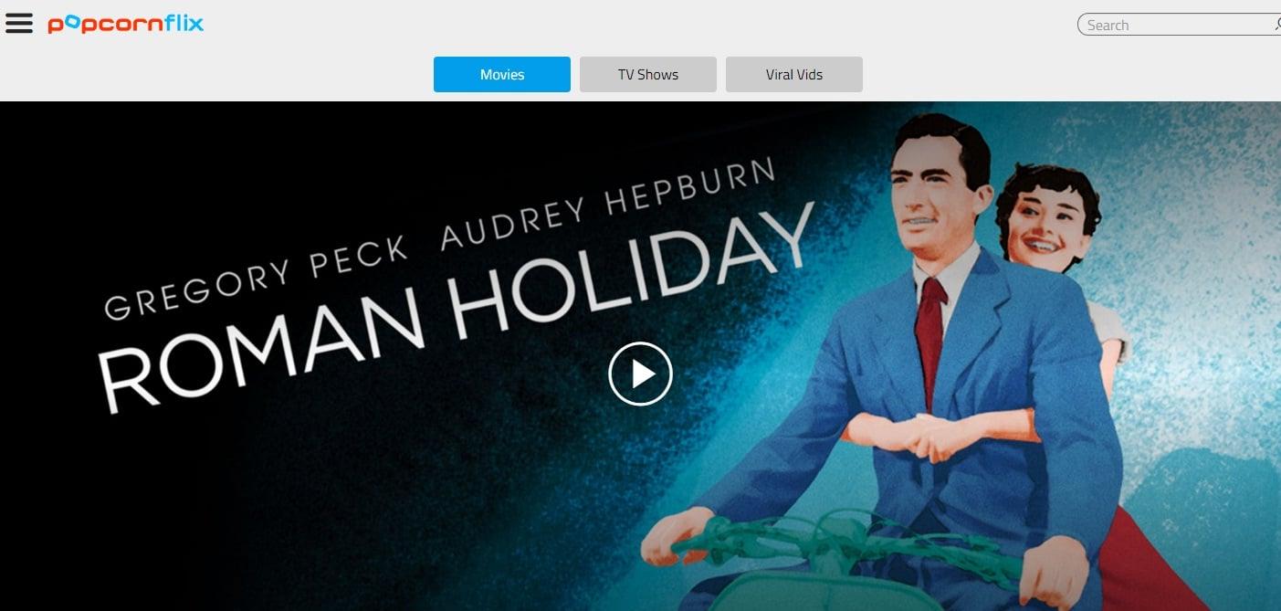 Top 10 Movie Download Sites : Popcorn Flix