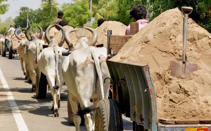 sand booking process in ap
