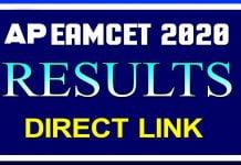 AP Eamcet Results 2020
