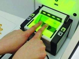 aadhaar biometric update online