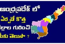 andhra pradesh new districts list 2020