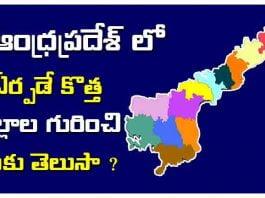 andhra pradesh new districts list 2020
