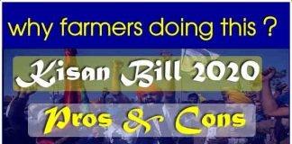 kisan bill 2020 : kisan andolan reason