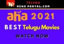 Best Telugu Movies In Aha App 2021