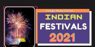 indian festivals 2021 list