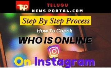 how do u know if someone is online on instagram