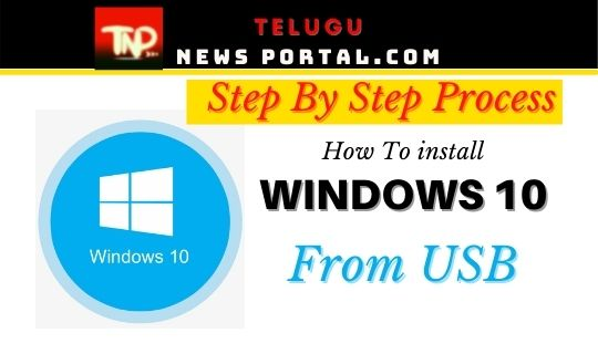 how to reinstall windows 10 from usb without losing data