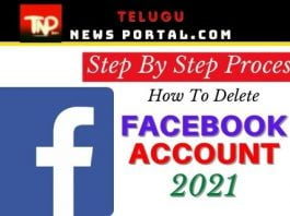 How To delete a Facebook Account 2021