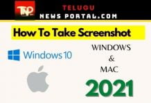 how to take screenshot on mac and on windows 10