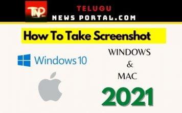 how to take screenshot on mac and on windows 10