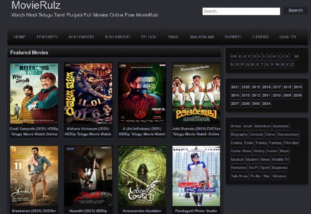 Movierulz Plz Telugu Movies 2021