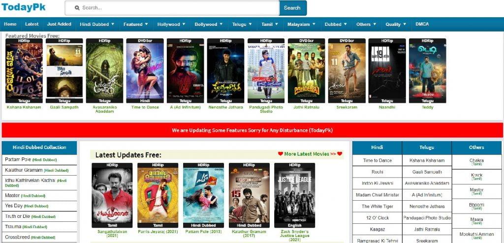 todaypk telugu movies download 2021 new link