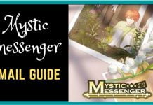 mystic messenger email guide 2021