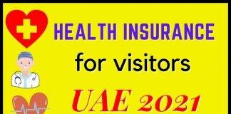 Health Insurance for Visitor Visa in UAE