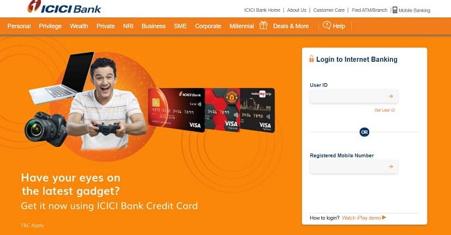 How to use ICICI Internet Banking First Time