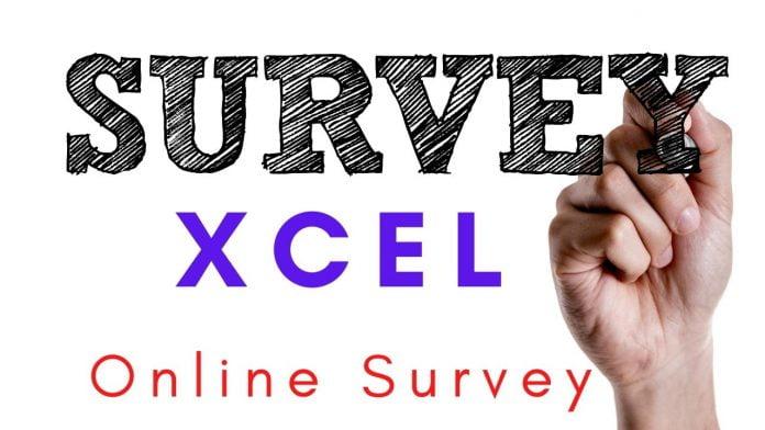 Xcel online survey 2021
